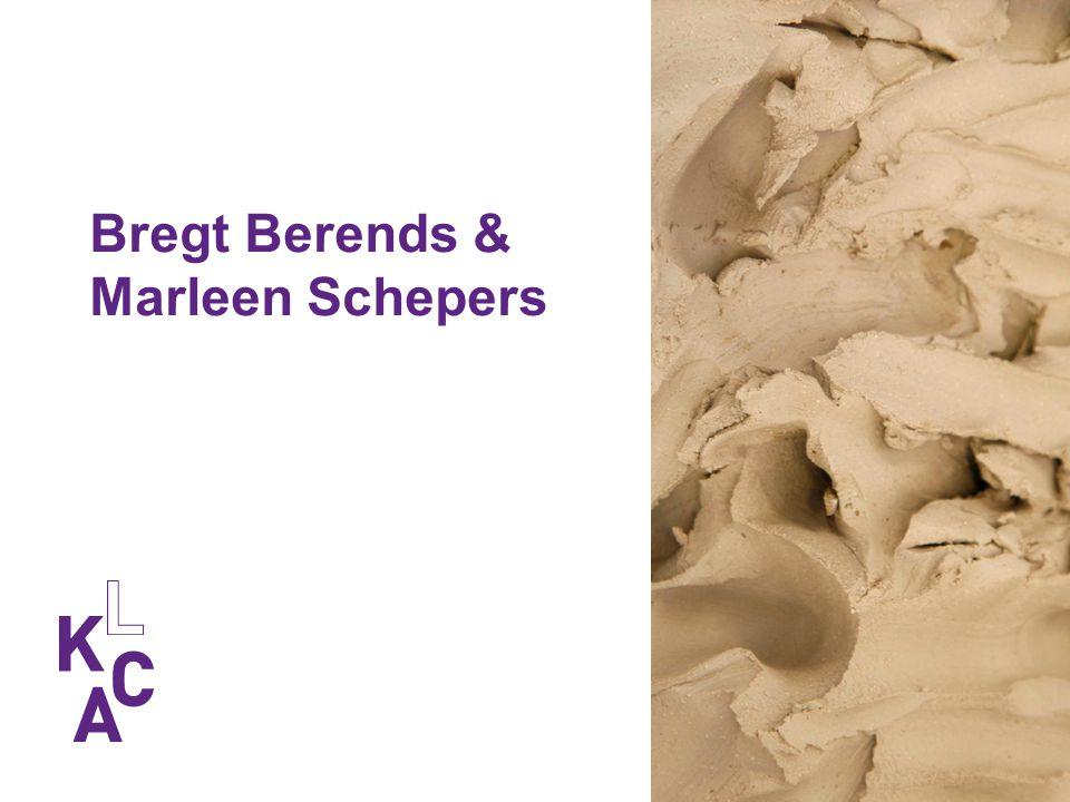Bregt Berends & Marleen Schepers