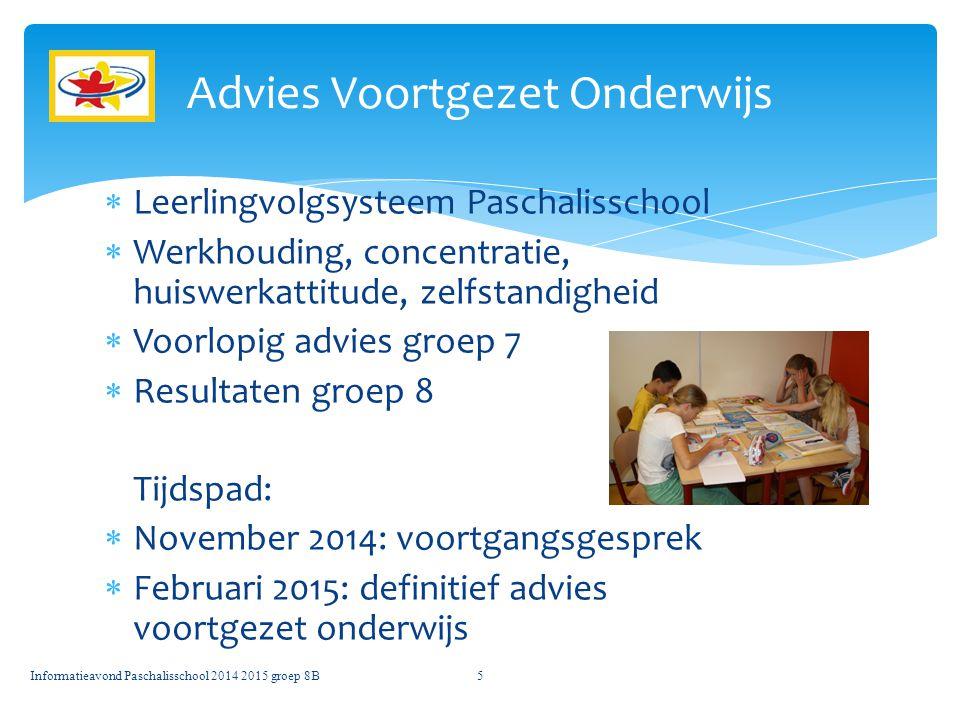 Advies Voortgezet Onderwijs
