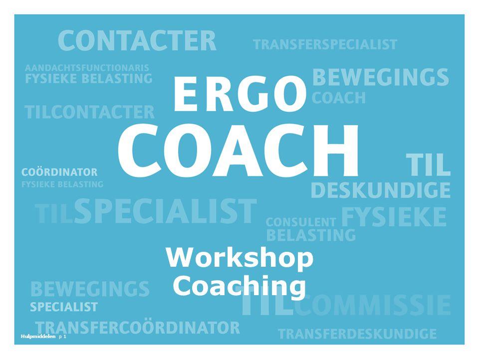 De algemene opzet van de workshop is als volgt