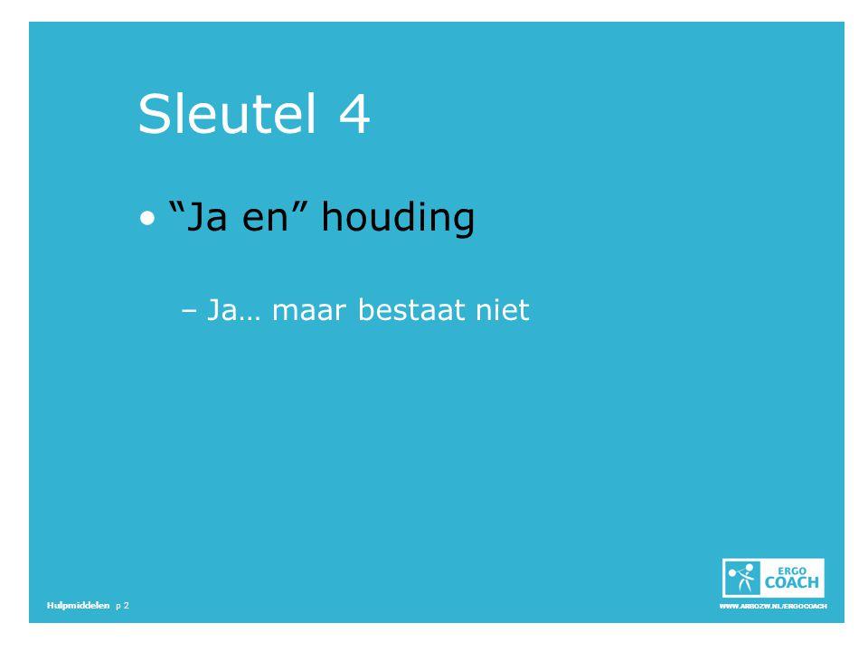 Sleutel 4 Ja en houding Ja… maar bestaat niet 16.33 - 16.35 S:
