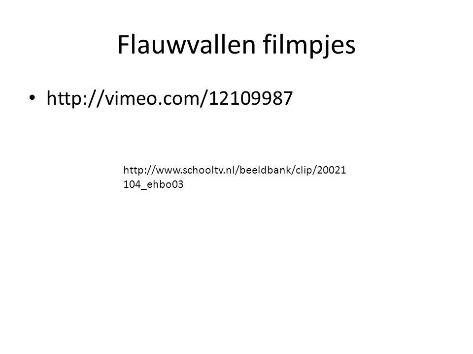 Flauwvallen filmpjes http://vimeo.com/12109987