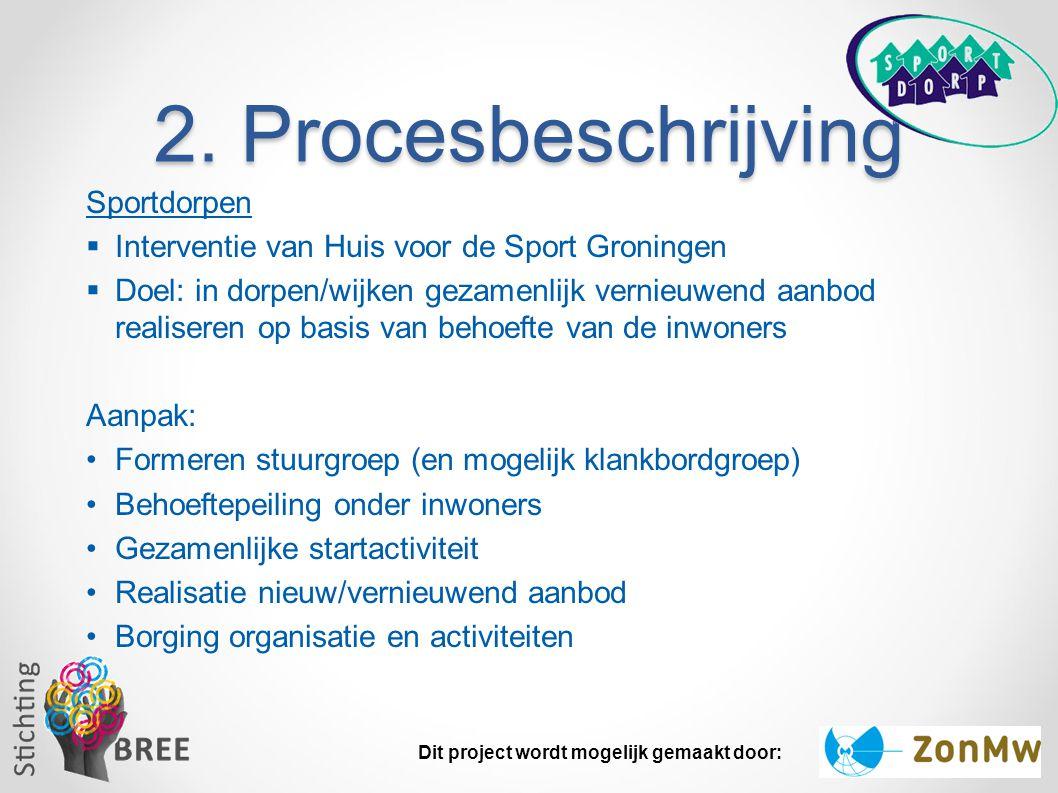 2. Procesbeschrijving Sportdorpen