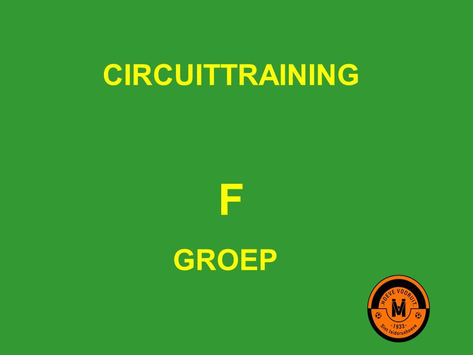 CIRCUITTRAINING F GROEP