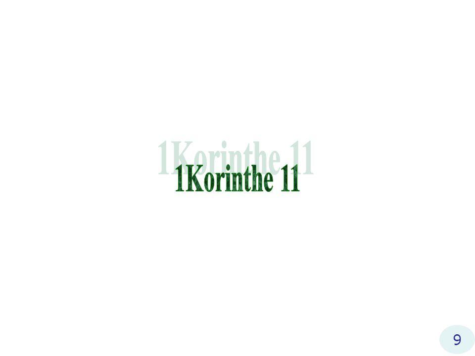 1Korinthe 11 9