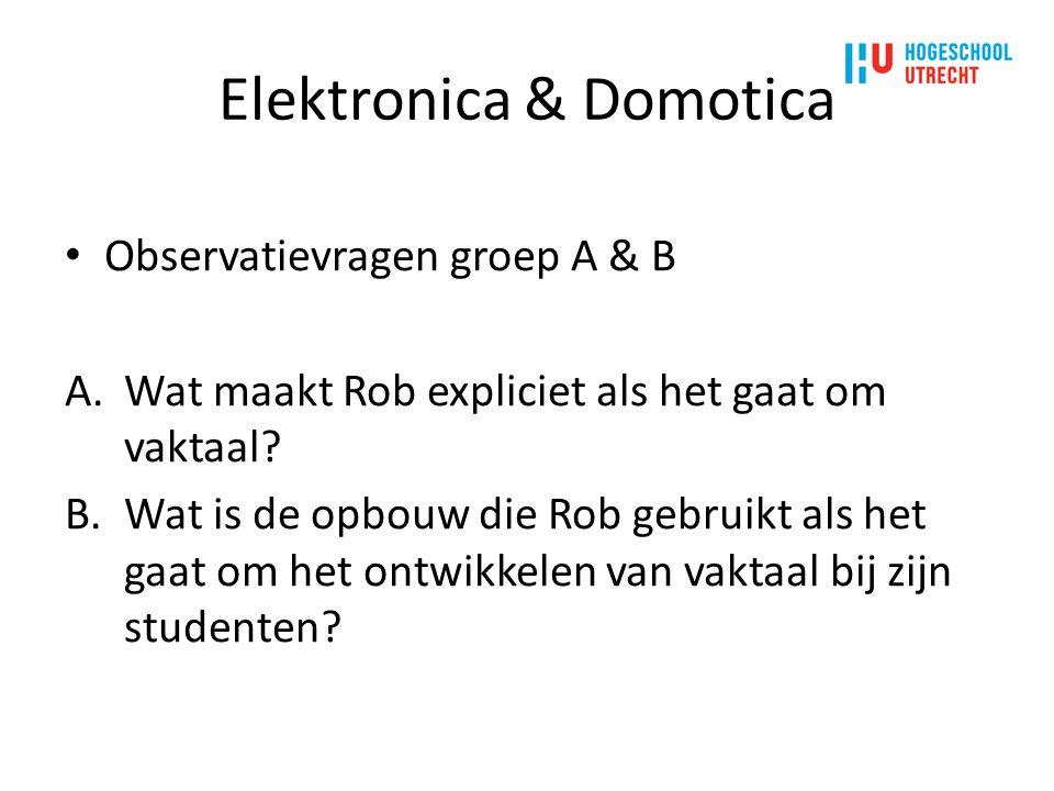 Elektronica & Domotica