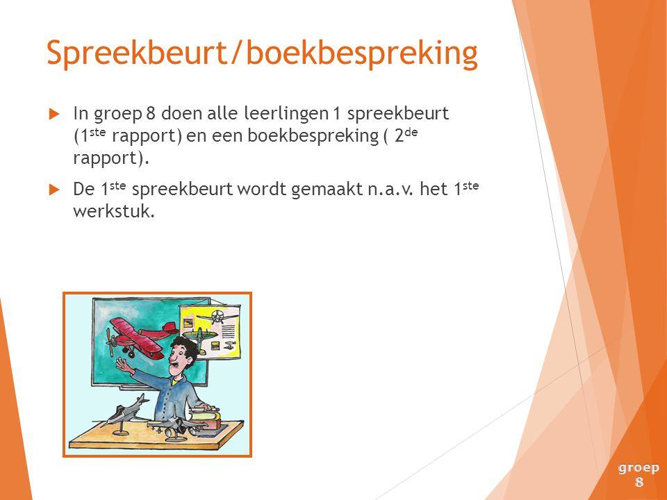 Spreekbeurt/boekbespreking