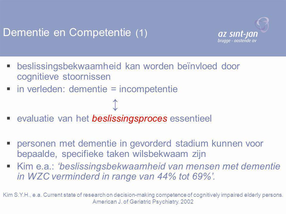 Dementie en Competentie (1)