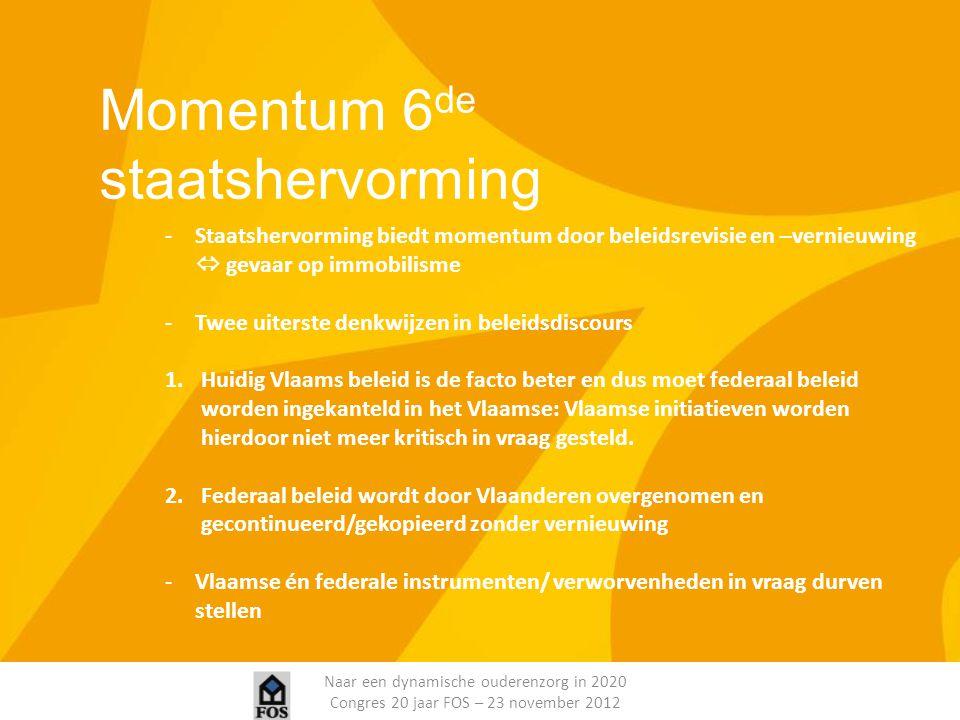 Momentum 6de staatshervorming