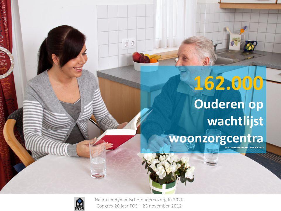 162.000 Ouderen op wachtlijst woonzorgcentra
