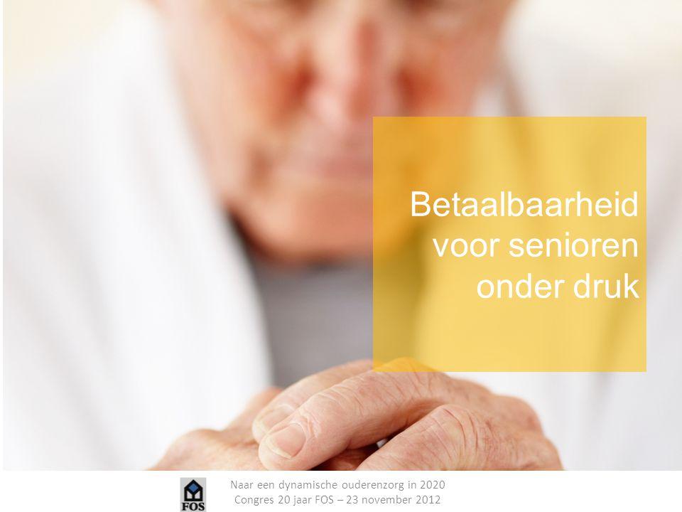 Betaalbaarheid voor senioren onder druk