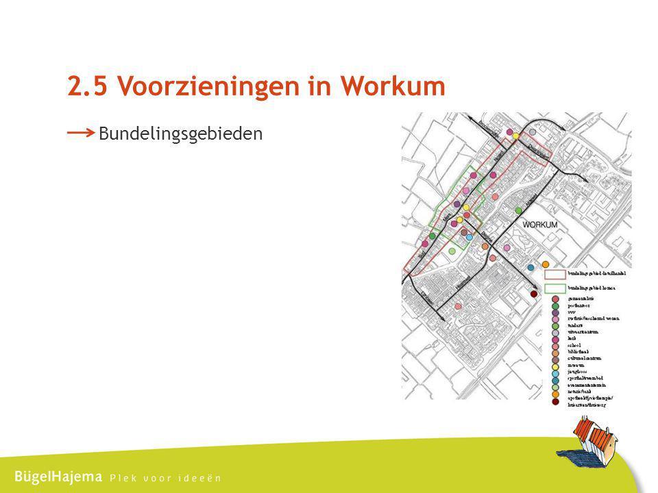 2.5 Voorzieningen in Workum