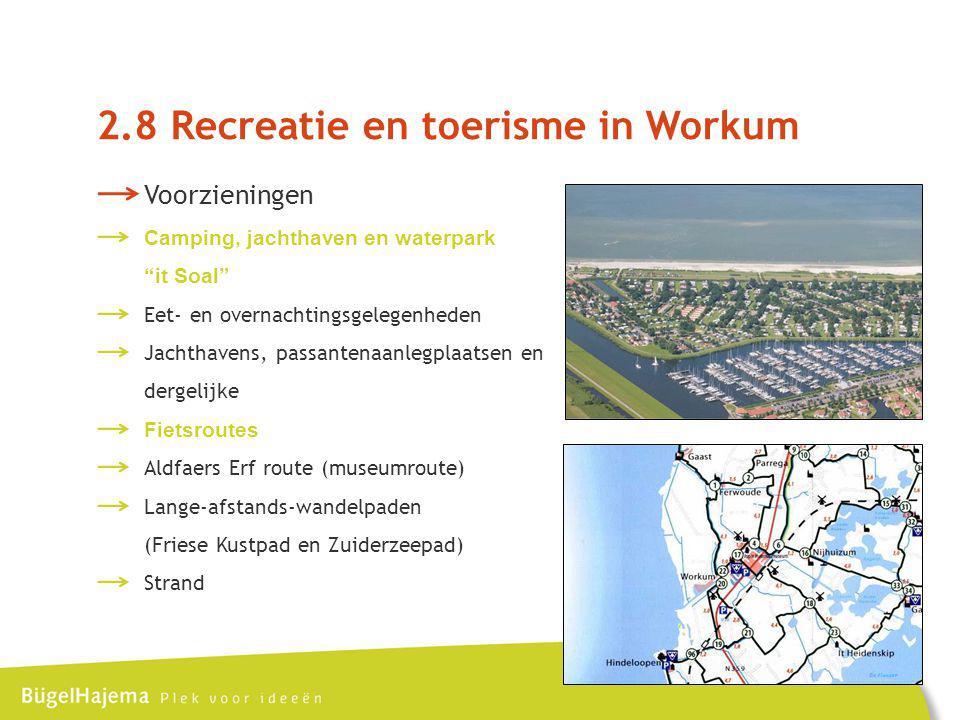2.8 Recreatie en toerisme in Workum