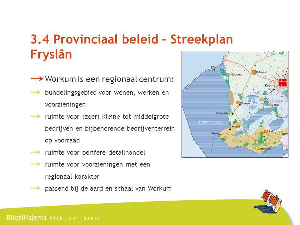 3.4 Provinciaal beleid – Streekplan Fryslân