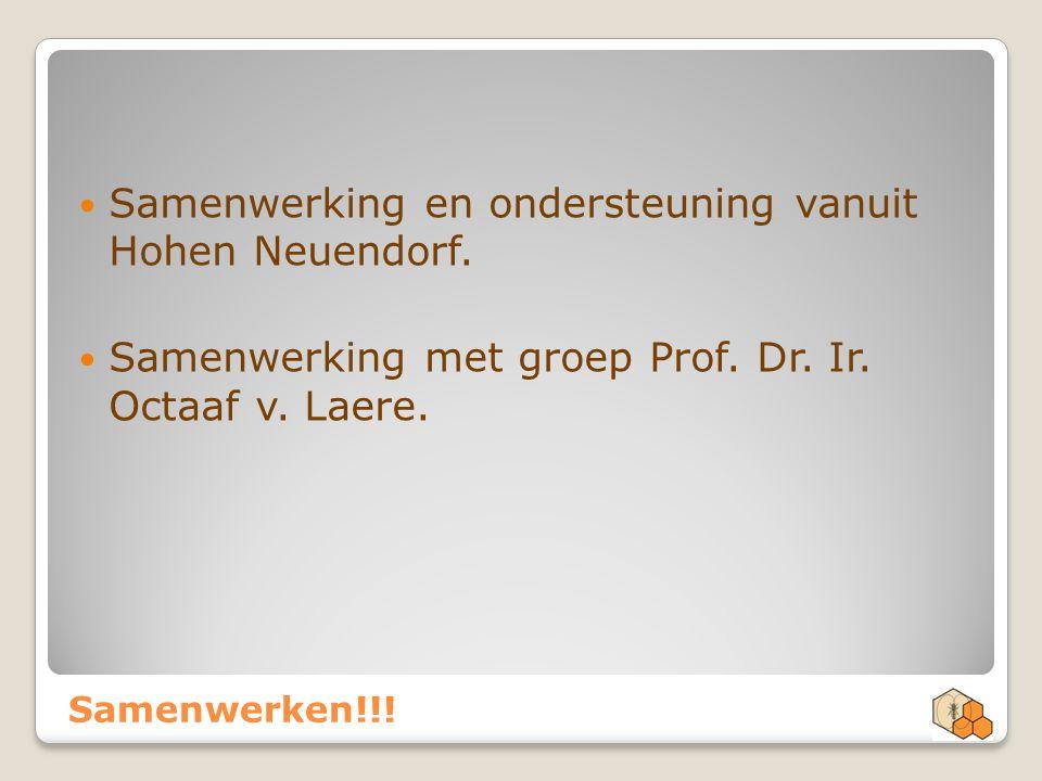 Samenwerking en ondersteuning vanuit Hohen Neuendorf.
