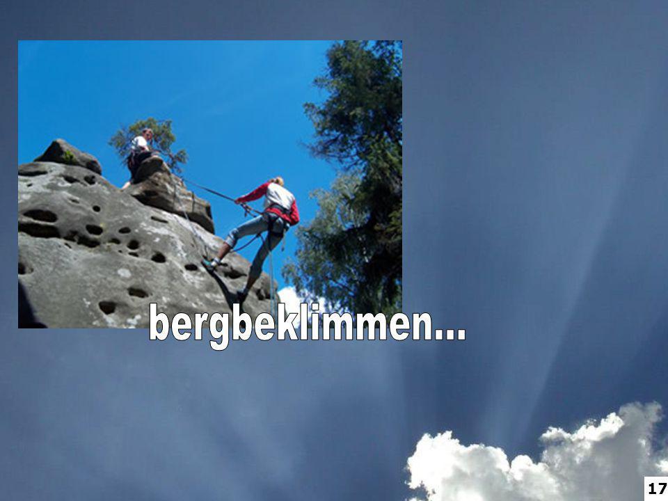 bergbeklimmen... 17