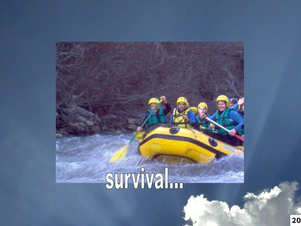 survival... 20
