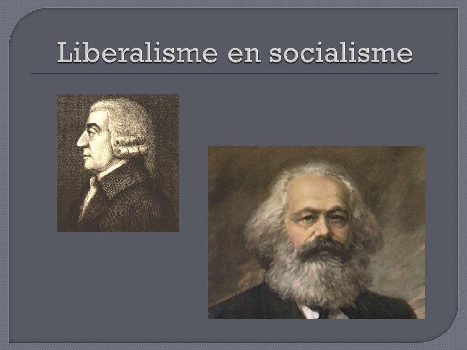 Liberalisme en socialisme