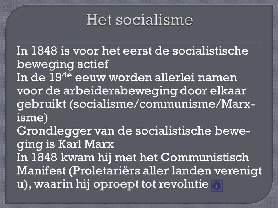 Het socialisme