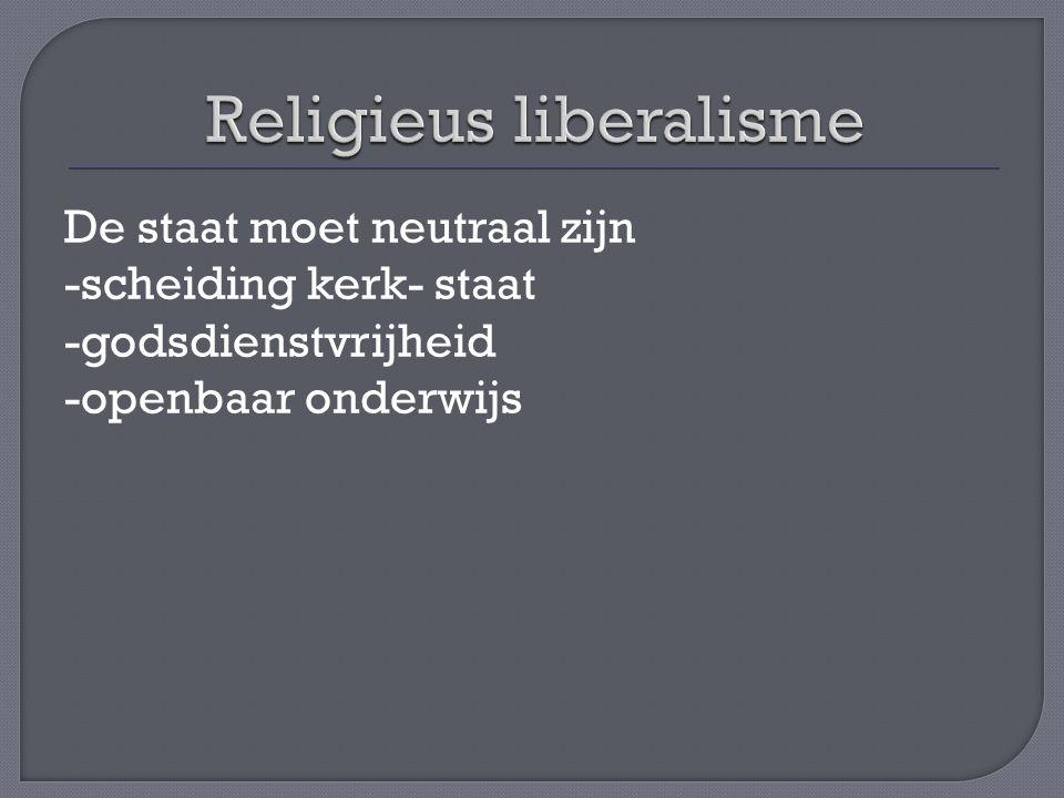 Religieus liberalisme