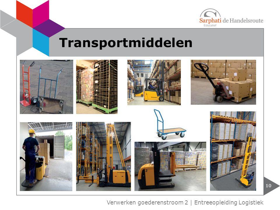 Transportmiddelen Verwerken goederenstroom 2 | Entreeopleiding Logistiek