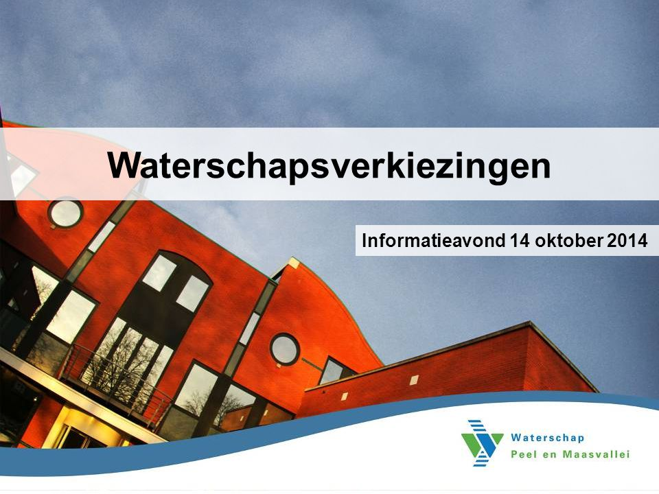 Waterschapsverkiezingen
