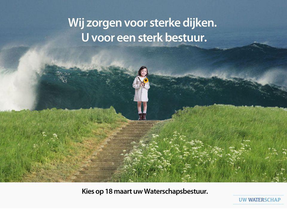 de overkoepelende waterschappen (Uw waterschap zorgt voor droge voeten, voldoende en schoon water + Er valt wat te kiezen)