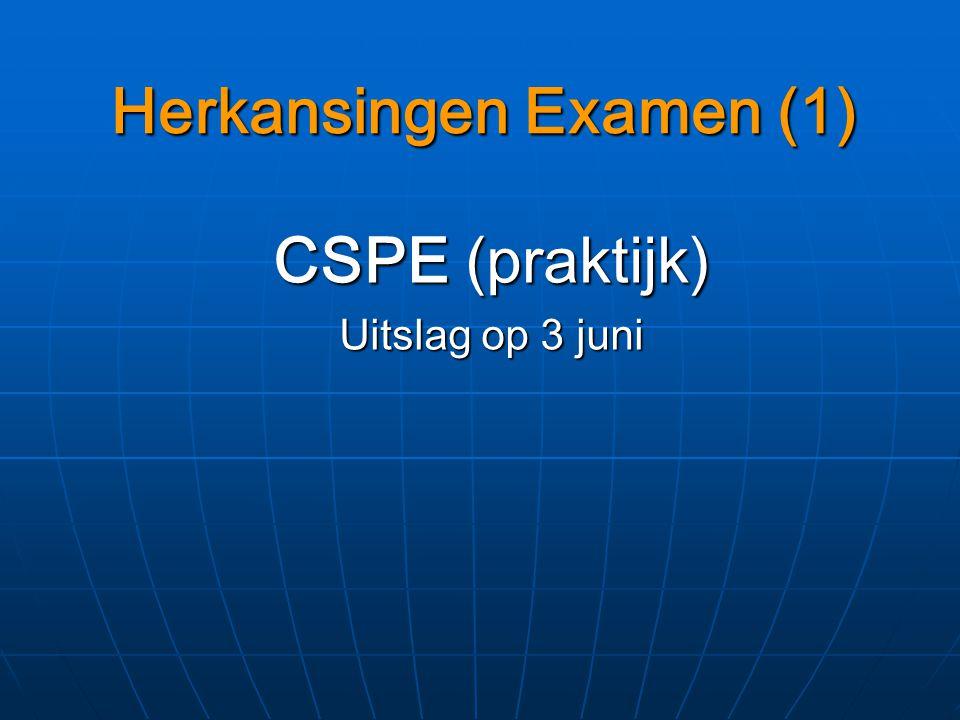 Herkansingen Examen (1)