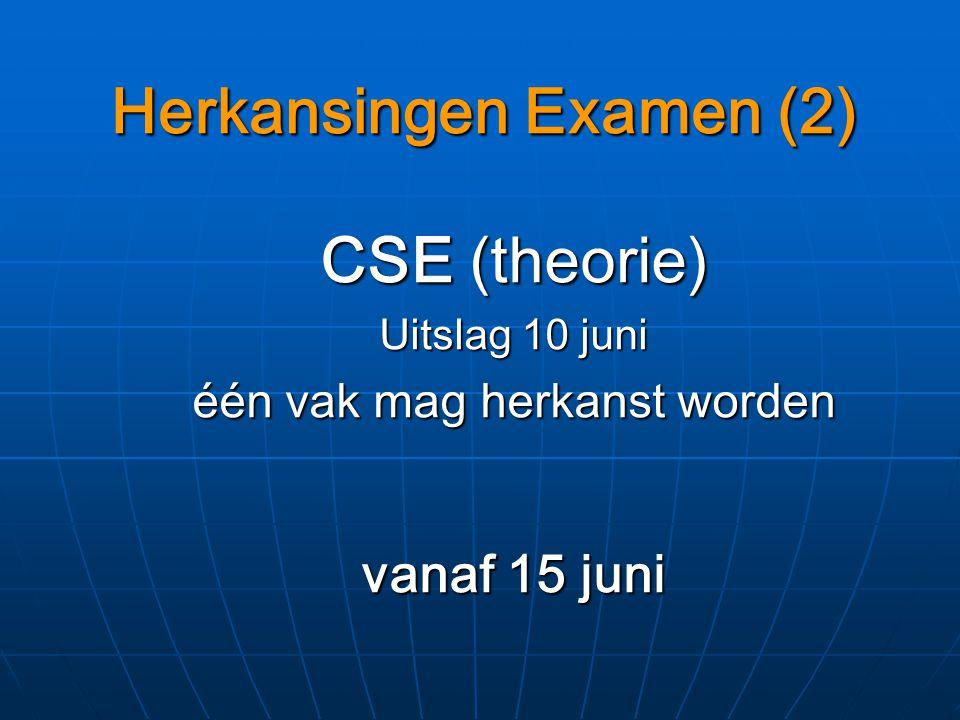 Herkansingen Examen (2)
