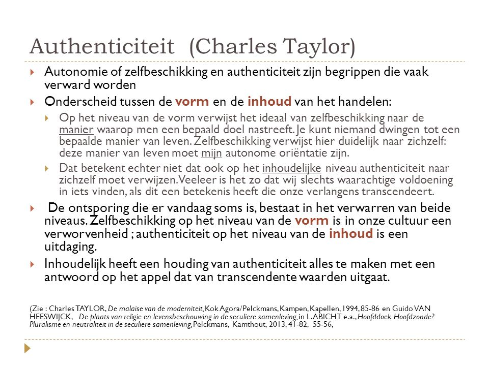 Authenticiteit (Charles Taylor)