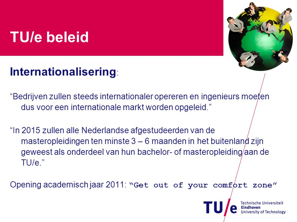 TU/e beleid Internationalisering: