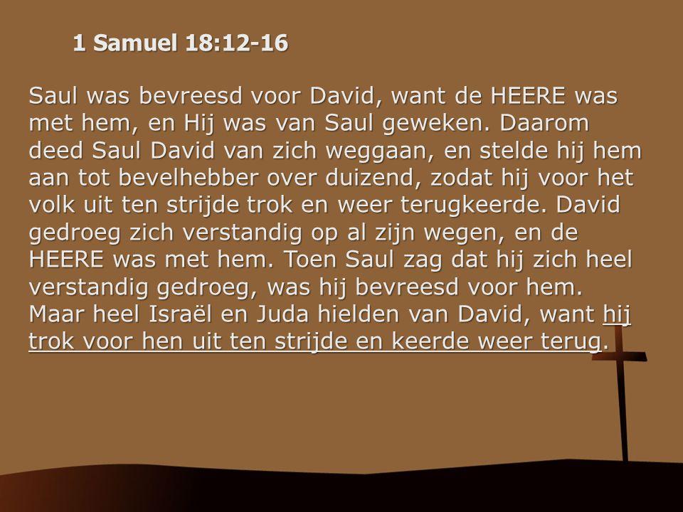 1 Samuel 18:12-16