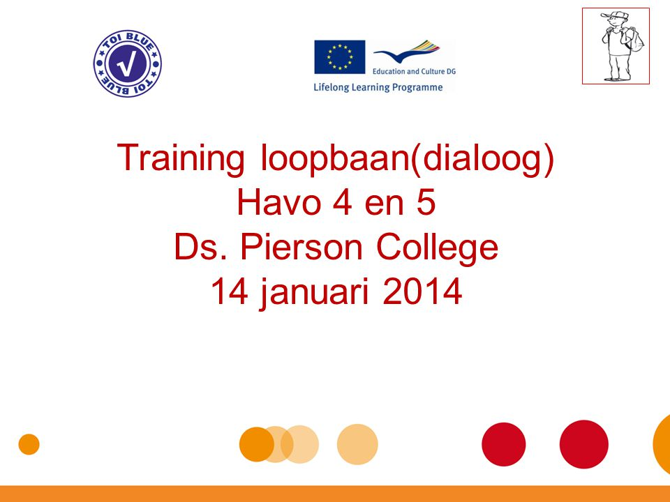 Training loopbaan(dialoog) Havo 4 en 5 Ds