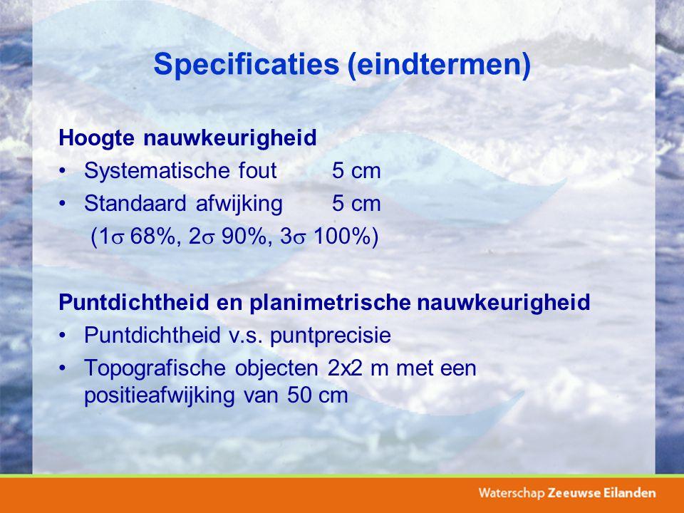 Specificaties (eindtermen)