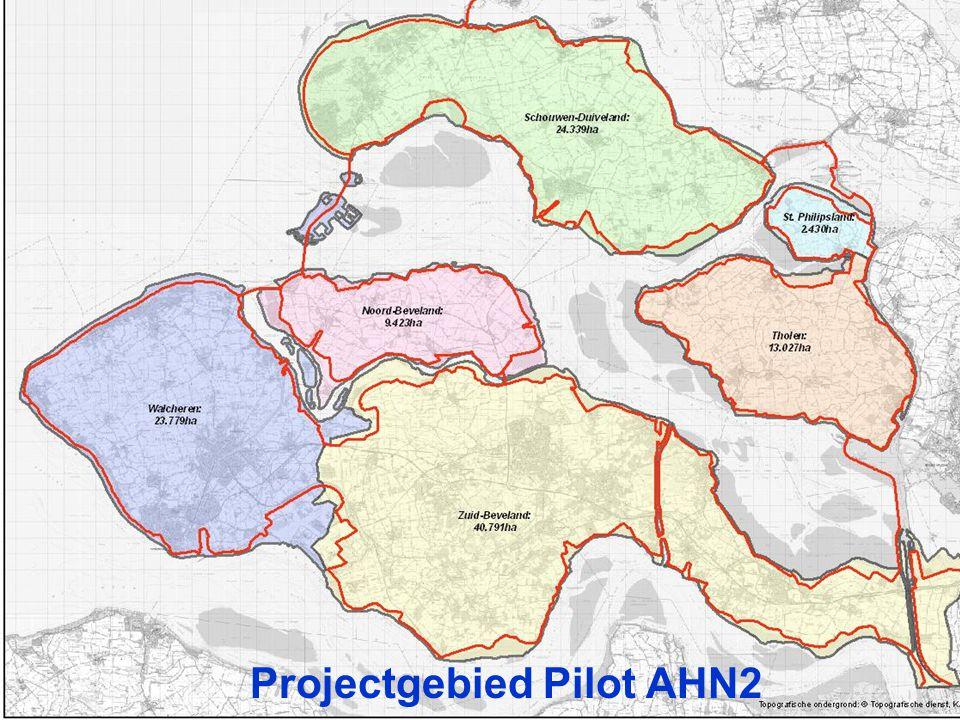 Projectgebied Pilot AHN2