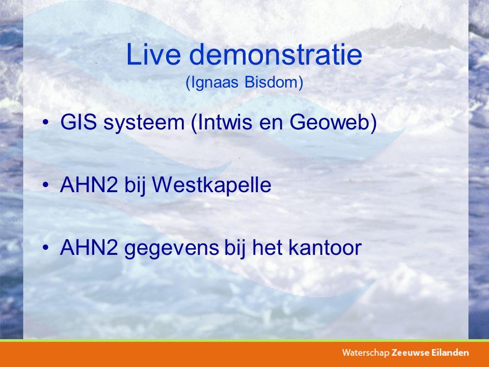 Live demonstratie (Ignaas Bisdom)