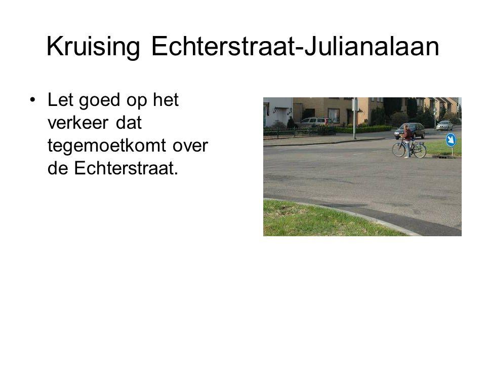 Kruising Echterstraat-Julianalaan