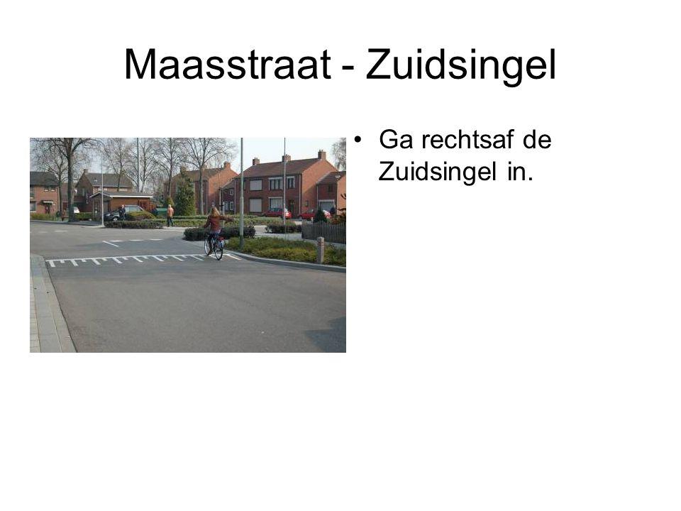 Maasstraat - Zuidsingel