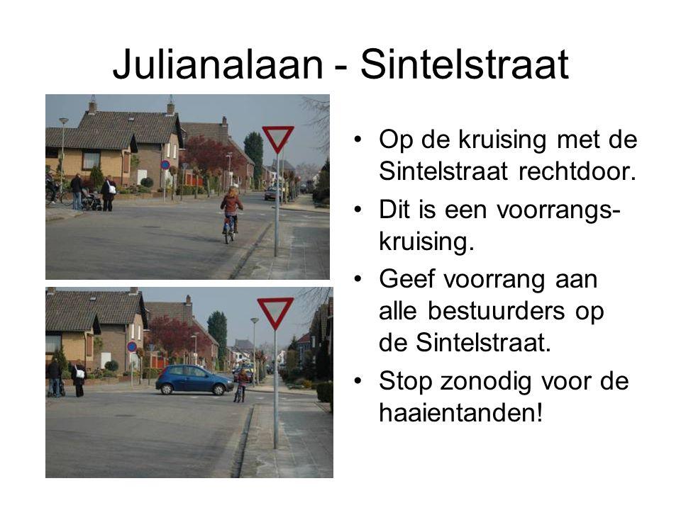 Julianalaan - Sintelstraat