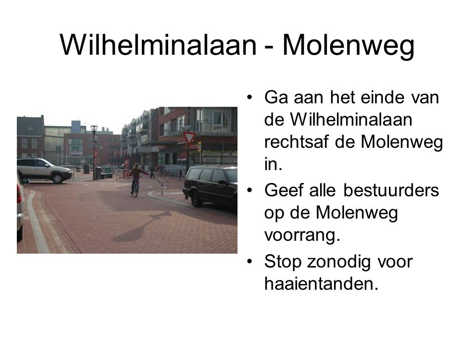 Wilhelminalaan - Molenweg