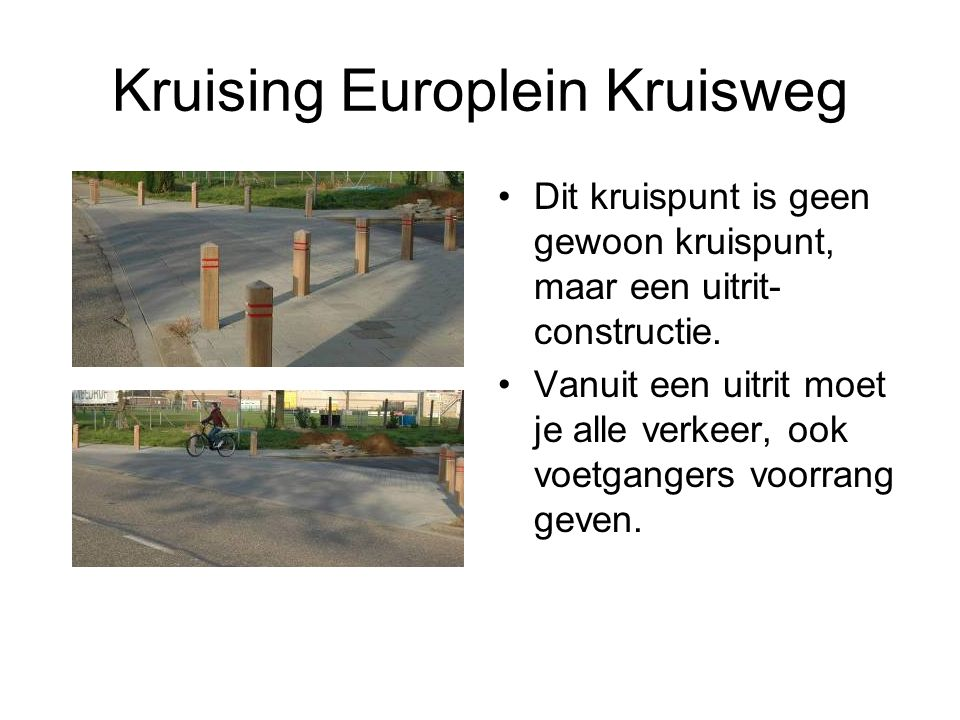 Kruising Europlein Kruisweg