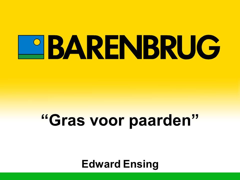 Gras voor paarden Edward Ensing