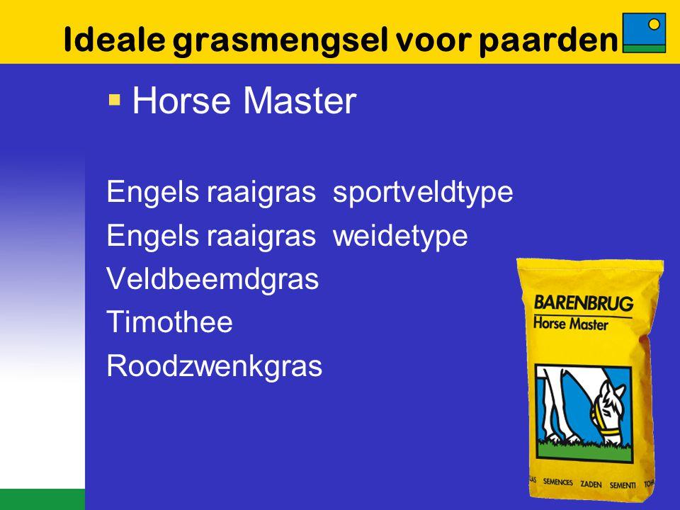 Ideale grasmengsel voor paarden