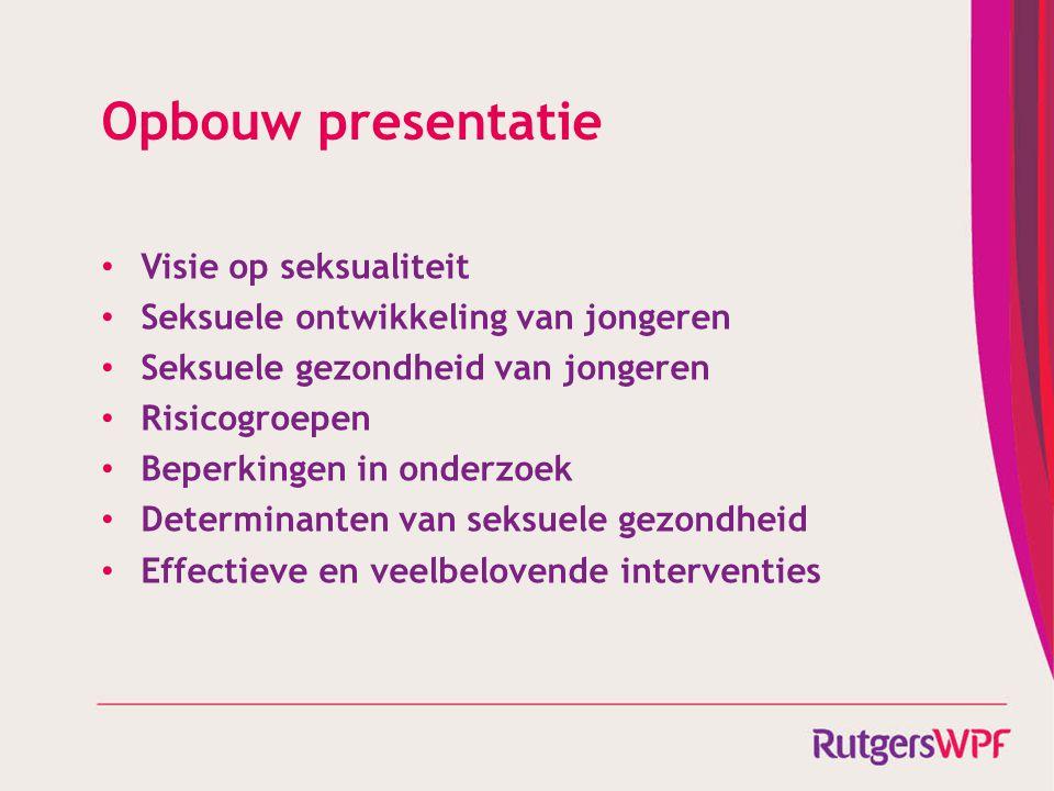 Opbouw presentatie Visie op seksualiteit