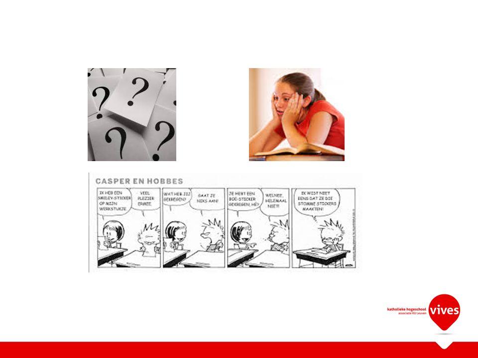 Casussen per 3- 4 bespreken