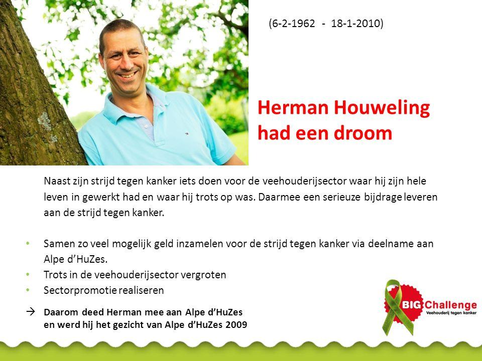 Herman Houweling had een droom