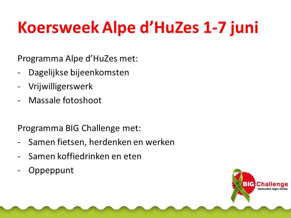 Koersweek Alpe d'HuZes 1-7 juni