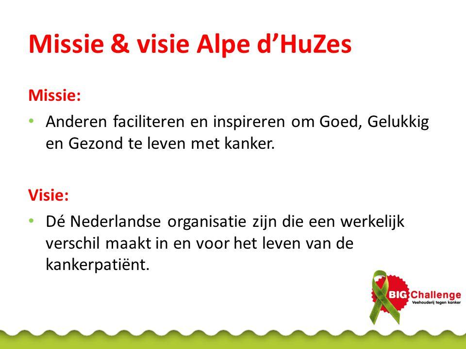 Missie & visie Alpe d'HuZes