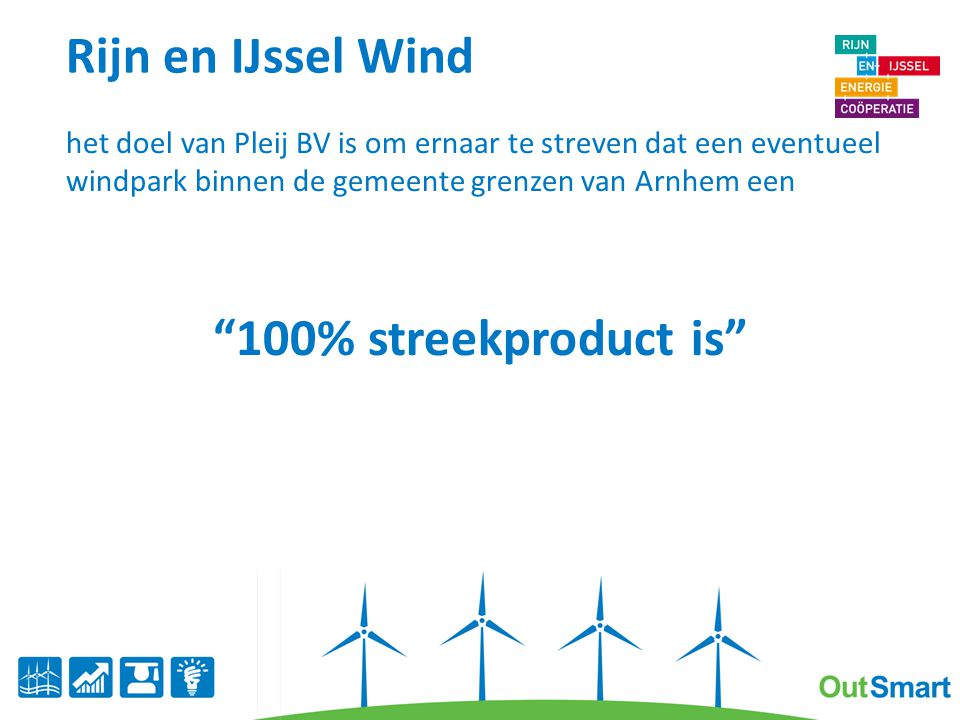 Rijn en IJssel Wind 100% streekproduct is