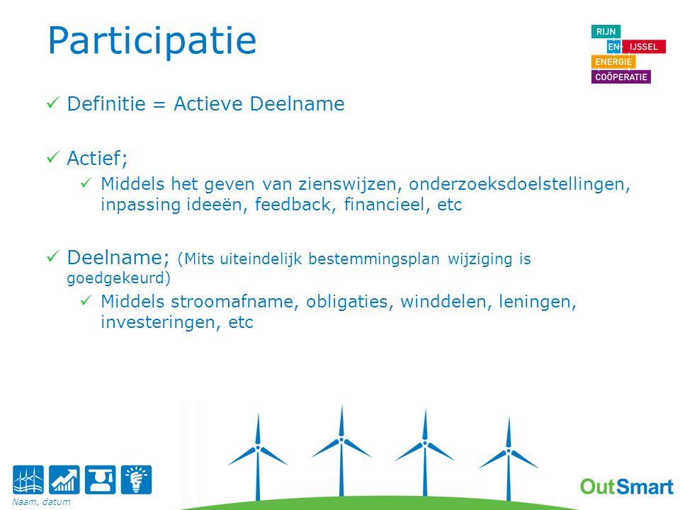 Participatie Definitie = Actieve Deelname Actief;