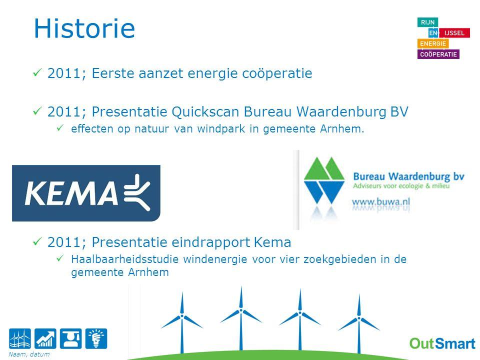 Historie 2011; Eerste aanzet energie coöperatie